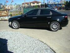 ALFA ROMEO 159  BLACK LEATHER SEATS & DOOR TRIMS 06/06-01/12