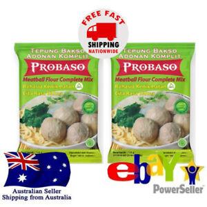 2x ProBaso Tepung Bakso Adonan Komplit Meatball Soup Flour Complete Mix 250g