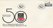 South Africa 1985 Cover 50th Congress of The P&T Association of SA 596