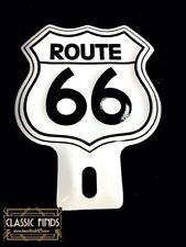 ROUTE 66 License plate topper Chevy Ford Buick Hudson Harley Davidson HD