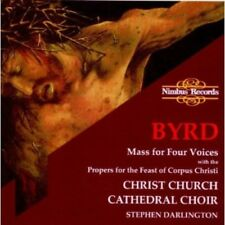 Mass for Four Voices [New CD]