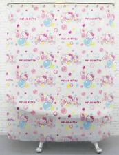 Hello Kitty Bubble & Bath Tub Design Milky Plastic 180 x 180 cm SHOWER CURTAIN