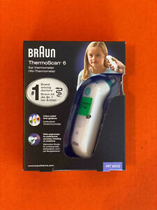 Braun Fieberthermometer IRT 6515MNLA grün/weiß Thermoscan Ohrthermometer