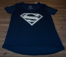 WOMEN'S TEEN DC COMICS SUPERMAN T-shirt XS NEW w/ TAG