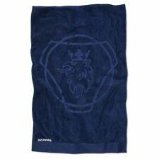 Echtes original Scania Beach Towel Blau (Hergestellt in Schweden)