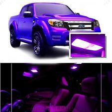 For Ford Ranger 1998+ Pink LED Interior Kit + Pink License Light LED