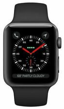 NEW Apple Watch Series 3 42mm Aluminium Case with Sports Band ✤ FACTORY SEALED ✤