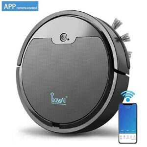 Robot Vacuum Cleaner Mobile APP Control Floor Cleaning Machine Automatic Sweeper