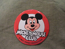#D331.  LARGE MICKEY MOUSE TIN BADGE