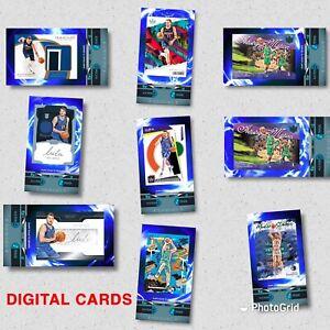 PANINI DUNK *DIGITAL* LUKA DONCIC 9 CARD LOW CC LOT-DALLAS MAVERICKS