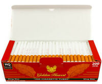 Golden Harvest Cigarette Tubes Red King Size - 5 Boxes (1000 Tubes)