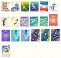 1978 San Marino Annata Completa Nuovi Come Unificato 19 Valori Integri