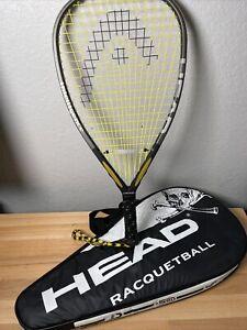 HEAD Intelligence Intellifiber i.165 Racquetball Racquet Power Raquet VG