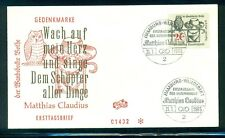 Germany #917 (Mi 462) 1965 Claudius unaddressed cachet FDC (cover 2)