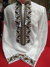 Ukrainische Herren bestickt Shirt vyshyvanka Stickerei