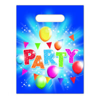 Boys Girls Happy Birthday PARTY Balloons Themed Loot Bag Lunch Bags Gift