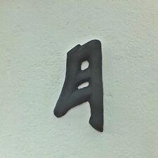 Steinfigur Chinesische Schriftzeichen Symbol für Mond Frostfest Steinguss 05