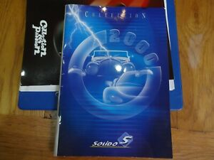 SOLIDO  CATALOGUE 2000