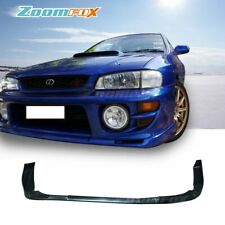 Fit 1997-2001 Subaru Impreza WRX Urethane STI Front Bumper Lip Spoiler Body Kits