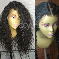 Brazilian Human Hair Wig Body Wave Full Lace Wigs Pre Plucked With Baby Hair #1B