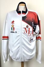 VINTAGE AC MILAN 1997 LOTTO TRACKSUIT JACKET ITALY MAGLIA SHIRT XL OPEL