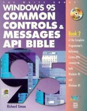 Windows 95 Common Controls & Messages Api Bible (Complete programmer's reference