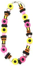 Liquorice Allsorts Quirky Novelty Necklace Funky Statement Costume Jewellery