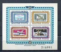 32533) HUNGARY 1974 MNH** Aerophila S/S Scott# CB36