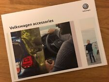 Volkswagen Accessories Brochure - VW Polo Golf Up Passat Tiguan R-Roc Touran etc