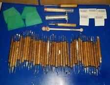 Lot of Kemper Clay Sculpting Tools Art Pottery Supplies 55 Pieces