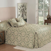 Bianca Winslet Sage Bedspread Set KING-SINGLE Bed Size RRP $349.95