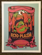 Kyle Crawford The Real Ghostbusters Print Poster Mondo Cartoon Slimer Ecto-Plazm