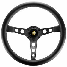 Momo Prototipo Black Steering Wheel 350mm Leather