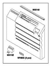Ritter Midmark M11 Door Panel Kit, RPI Part #RPI #MIK195  OEM Part #002-0506-00