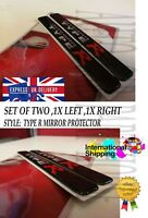 HONDA TYPE R CIVIC Decal Sticker Rearview Mirror Anti-collision Edge Protector