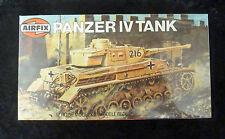 Airfix WW2 Panzer IV Tank 00 Scale Model Kit SEALED