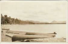 REAL PHOTO POSTCARD c1920s Camp Phoenix GREENVILLE, ME