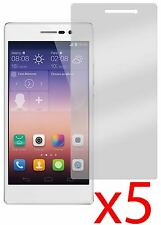 Hellfire Trading 5x Screen Protector Cover Guard for Huawei Ascend P7