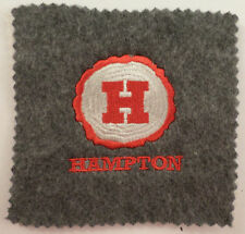 Hampton Grey Felt Uniform Patch