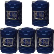 5x 10 Liter Orignal MANNOL Motoröl TS-1 SHPD 15W-40 API CH-4/CG-4/CF-4/SL