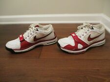 Classic 2009 Used Worn Size 11 Nike Trainer 1 Shoes White Red Black