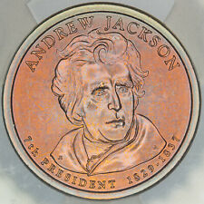 2008-D PRESIDENTIAL DOLLAR ANDREW JACKSON ICG SP69 SATIN FIRST DAY ISSUE (DR)