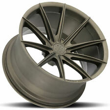 "4ea 19"" Blaque Diamond Wheels BD-11 Matte Bronze Rims (S1)"