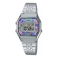 Casio LA-680WA-2C Silver Digital Wrist Watch for Women