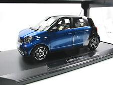 Norev 183435 - 2015 Smart Forfour - Black/Blue - 1/18 - Metall-Modell