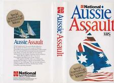 AUSSIE ASSAULT SPECIAL AMERICA'S CUP RELEASE VHS   VHS PAL VIDEO A RARE FIND