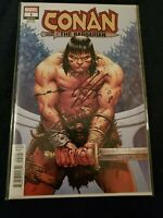 SIGNED CONAN THE BARBARIAN #1 INCENTIVE VARIANT signed by Jason Aaron