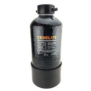 4.6L CEDELITE Resin Vessel Canister - To be used with DI or Softener Resin