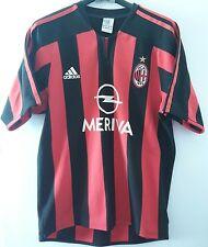 Maglia Maglietta Calcio Milan Opel Meriva Tg S Adidas Serie A 2003 2004 Original