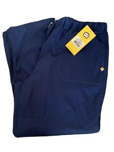 WonderWink Women's Plus Size 3x Next Color Navy Blue New!!